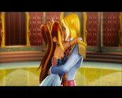 Bacio tra Bloom e Sky ne Il segreto del regno perduto