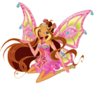 Winx Club Flora Enchantix pose4