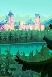 Foresta di magix e alfea