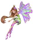 Winx Club Flora Sirenix pose16