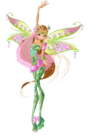 Winx Club Flora Bloomix pose2