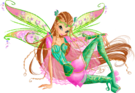 Winx Club Flora Bloomix pose3