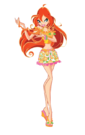 Winx Club Bloom s4 pose10