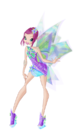 Winx Club Tecna Mythix pose