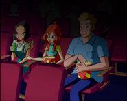Bloom e i suoi genitori al cinema