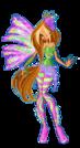 Winx Club Flora Sirenix pose19