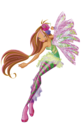 Winx Club Flora Sirenix pose3