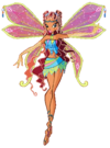Winx Club Aisha Enchantix pose