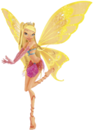 Winx Club Stella Movie Enchantix pose
