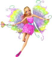 Winx Club Flora Mythixx pose16