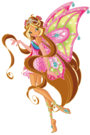 Winx Club Flora Enchantix pose2