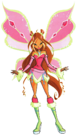 Winx Club Flora Lovix pose5