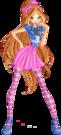 Winx Club Flora s6 pose4