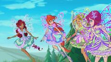 Aisha, bloom, flora e tecna in 709