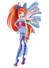 Winx Club Bloom Sirenix pose