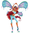 Winx Club Aisha Believix pose