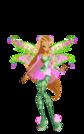 Winx Club Flora Bloomix pose8