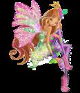 Winx Club Flora Sirenix pose13