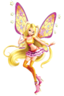 Winx Club Stella Movie Believix pose