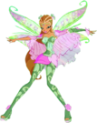 Winx Club Flora Bloomix pose6