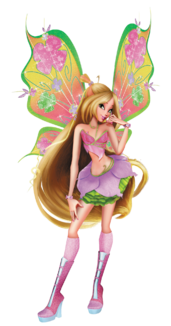 Flora 3d believix png by bloomsama-d7ay124