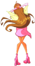 Winx Club Flora Magic Winx pose4