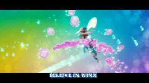 Winx Club 2 Believix 3D Transformation HD! Rai English Official Song!