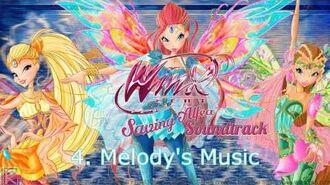 "HD Winx Club Saving Alfea Soundtrack 04 ""Melody's Music"""