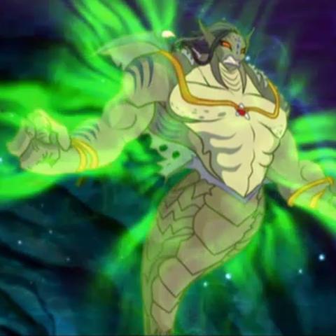 Tritannus jako monstrum (2D).