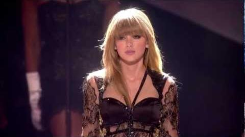 Taylor Swift 'I Knew You Were Trouble' I BRITs 2013 I OFFICIAL - HD