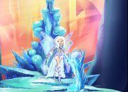 Aurora in throne room