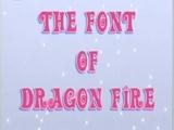 La font del Foc de Drac