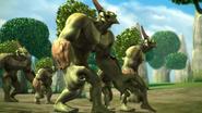 Trolls del bosque 3d