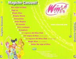 Magiche Canzoni Back