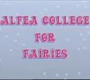 Colegiul Alfea pentru zâne