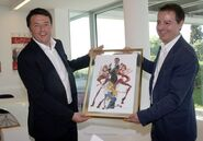Premier Renzi visits Rainbow