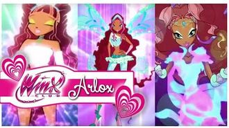 Winx Club - Aisha All Transformations