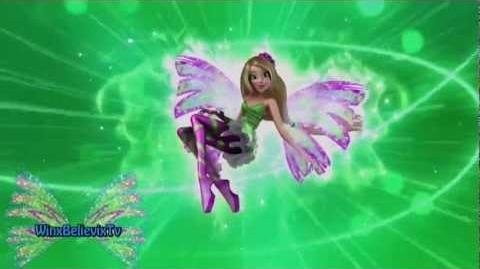 Winx Club Sirenix Transformation - Castellano Spanish! HD!