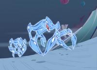 Ice crabs