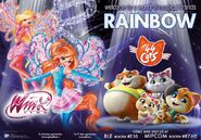 NEW - WINX 8 AND 44 CATS