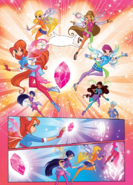 Winx Club issue 153 - Magic of Travelix