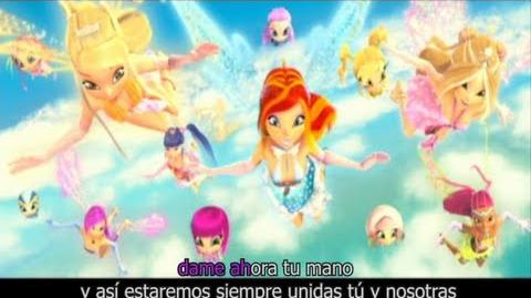 """Fly """"Sigue tu Corazón"""" Winx Club En Concierto CASTELLANO!-0"""