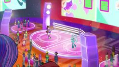 O concurso de baile de Melodía