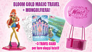 Bloom - Winx Gold Magic Travel