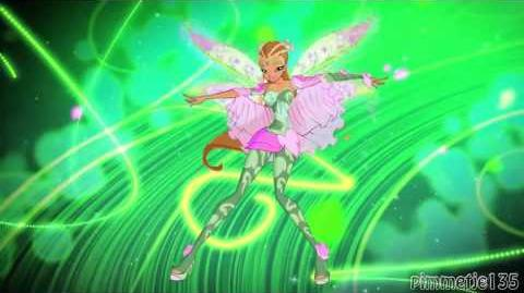 Winx Club Bloomix Full! Transformation! (Italian Italiano) FHD!