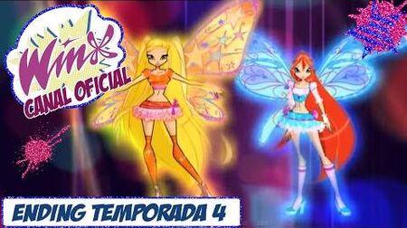 Winx Club Ending Temporada 4 Español Latino Rai-Version HD