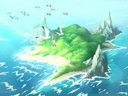 A illa encantada