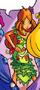 Atuendos de Flora/Cómics
