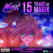 Winx 15 Years of Magix