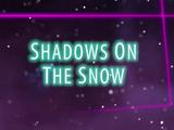 Sombras na neve